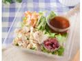 ローソン 豚肉とカリカリ梅のサラダ