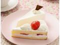 ローソン Uchi Cafe' SWEETS 苺のショートケーキ&レアチーズケーキ
