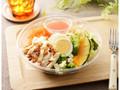 ローソン 1食分のプロテインサラダ 人参ドレッシング
