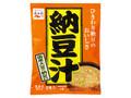 永谷園 納豆汁 生みそタイプ 袋73.5g