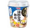 丸美屋 スープdeごはん 海鮮白湯雑炊 カップ70.5g