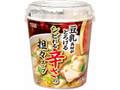 丸美屋 豆乳具材がとろける シビれる辛さの担々スープ カップ87.3g