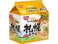 日清 日清北海道のラーメン屋さん 札幌みそ味 5食パック 袋440g