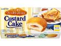 ロッテ カスタードケーキ メープル香るフレンチトースト風味 箱6個