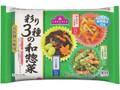 トップバリュ 彩り3種の和惣菜 袋15g×6