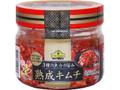トップバリュ ベストプライス 3種の魚介の旨み 熟成キムチ 韓国直輸入 ボトル333g