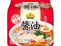 トップバリュ ベストプライス もちっとした太麺 醤油ラーメン 袋96g×5