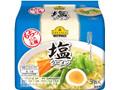 トップバリュ ベストプライス もちっとした太麺 塩ラーメン 袋93g×5