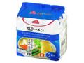 トップバリュ 塩ラーメン 袋93g×5