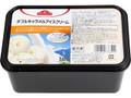 トップバリュ ダブルキャラメルアイスクリーム カップ1L