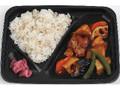 ミニストップ 鶏肉と野菜の黒酢あん弁当