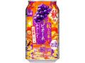 アサヒ 果実の瞬間 山梨産完熟ピオーネ 缶350ml