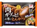 あけぼの おいしいおかず 肉ガブッと!ぶ厚いとんかつ 袋264g