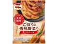 マ・マー あえるだけパスタソース 1/3日分の食物繊維 ごぼうと香味野菜のミートソース 袋140g