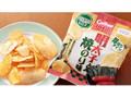 カルビー 厚切りタイプポテトチップス 明太子と焼のり味 袋55g