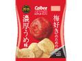 カルビー ポテトチップス 梅好きのための濃厚うめ味 袋62g