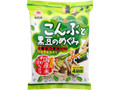 越後製菓 こんぶと黒豆のめぐみ 袋18g×4袋