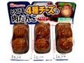 ニッポンハム とろける4種チーズの肉だんご パック64g×3