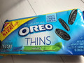 Oreo Thins Mint 袋371g