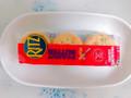 ナビスコ リッツ ピーナッツバター サンドイッチ クラッカー 袋6個