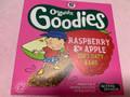 Goodies ラズベリーアンドアップル ソフトオーティバー 箱6個