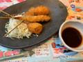 がんこ寿司 道頓堀 串カツ4種盛