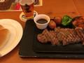 ビア&グリル スーパードライあべの サーロインステーキセット