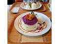 カフェルクス 紫いものパンケーキ