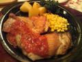 ガスト 若鶏のグリル ガーリックソース