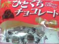 寺沢製菓 ひとくちチョコレート 袋163g