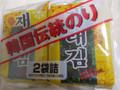 ニコニコのり 韓国伝統のり