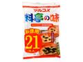マルコメ 料亭の味 お徳用21食入り 袋388g