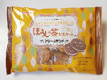 松永 ほうじ茶ビスケットのクリームサンド 袋150g