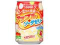 DyDo 2つの食感アップルソーダゼリー 缶280g