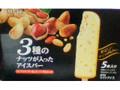 ロッテ 3種のナッツが入ったアイスバー 箱40ml×5