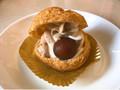 デイリーヤマザキ ひとつぶ栗のクッキーシュー