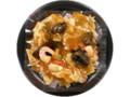 デイリーヤマザキ デイリーホット 8種具材の中華丼