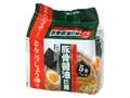 麺のスナオシ 豚骨醤油拉麺 くせのない後味さっぱりしたとんこつ醤油ラーメンです 袋83.2g×5食