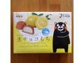 福田屋(熊本) 生チョコもち レモンピール&ホワイトチョコ 箱12個