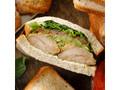 スターバックス バジルトマトチキンサンドイッチ 1個