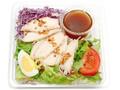 セブン-イレブン 蒸し鶏サラダ すりおろし野菜ドレッシング