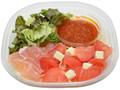 セブン-イレブン 生ハムとチーズとトマトの冷製パスタ