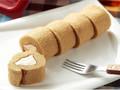 ローソンストア100 切れてるロールケーキ メープルバター風味 5枚