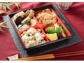 ナチュラルローソン 2種のおこわ弁当 阿波尾鶏&豆