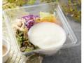 ナチュラルローソン 生豆腐で食べるサラダ 三之助豆腐使用