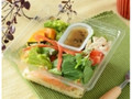 ナチュラルローソン 6種の緑黄色野菜と国産チキンサラダパスタ