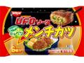 日清食品冷凍 日清焼そばU.F.O. ソースキャベツメンチカツ 袋6個