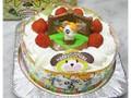 アレルギーキャラデコスペシャルケーキ とっとこハム太郎 卵・牛乳抜き5号