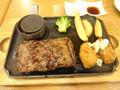 ココス ビーフハンバーグステーキ&牡蠣フライ