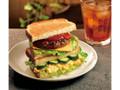 カフェ・ド・クリエ 2つのサンド チーズハンバーグとたまごサラダ